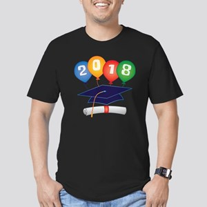 2018 Grad Men's Fitted T-Shirt (dark)