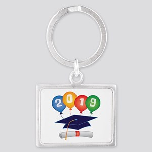 2019 Grad Landscape Keychain