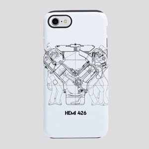 V8 Engine iPhone 7 Tough Case