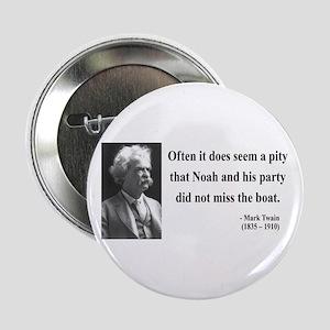 """Mark Twain 23 2.25"""" Button"""