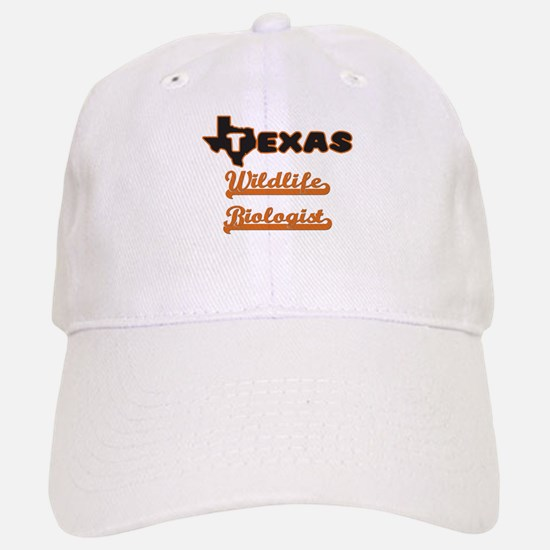 Texas Wildlife Biologist Baseball Baseball Cap