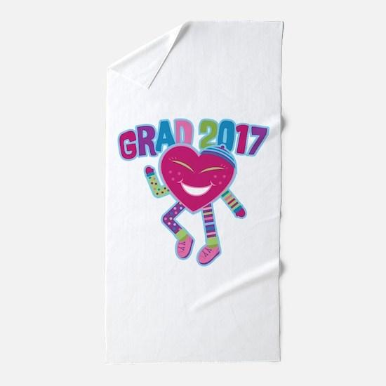 Funky Grad 2017 Beach Towel