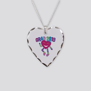 Funky Grad 2019 Necklace Heart Charm