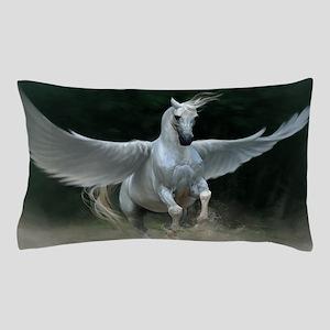 White Pegasus Pillow Case