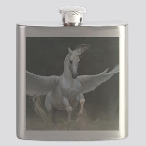 White Pegasus Flask