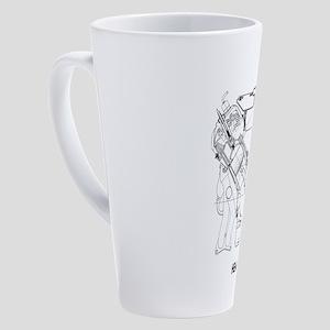 V8 Engine 17 oz Latte Mug