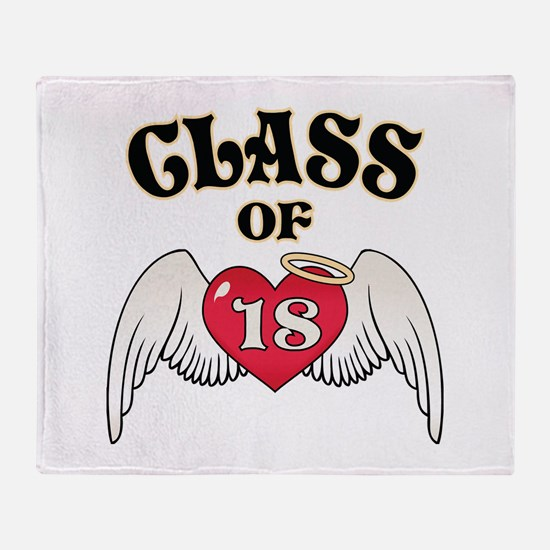 Class of '18 Throw Blanket