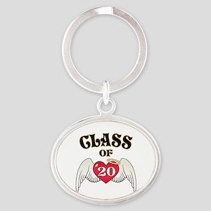 Class of '20 Oval Keychain