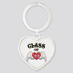 Class of '22 Heart Keychain