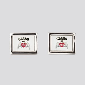 Class of '22 Rectangular Cufflinks