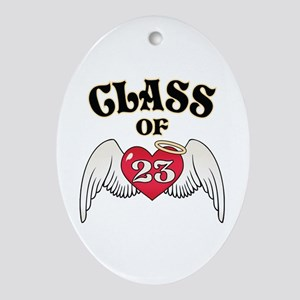 Class of '23 Ornament (Oval)