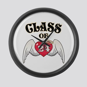 Class of '24 Large Wall Clock
