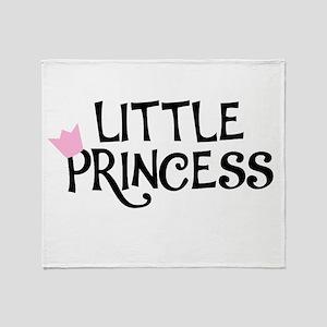 Little Princess Throw Blanket