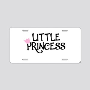 Little Princess Aluminum License Plate