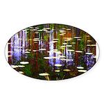 Fall Pond Sticker
