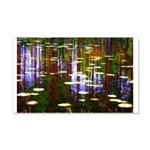 Fall Pond Wall Decal