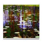 Fall Pond Tile Coaster