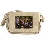 Fall Pond Messenger Bag