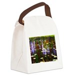 Fall Pond Canvas Lunch Bag