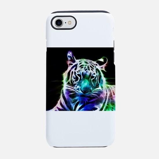 Tiger Print iPhone 7 Tough Case