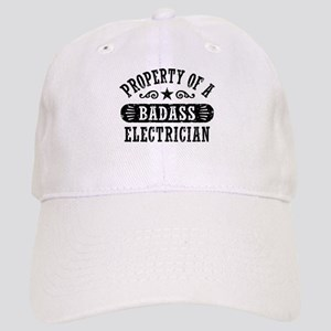 Property of a Badass Electrician Cap