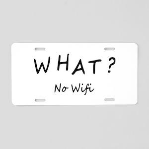 Wifi Aluminum License Plate