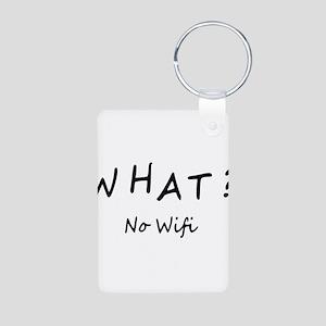 Wifi Aluminum Photo Keychain