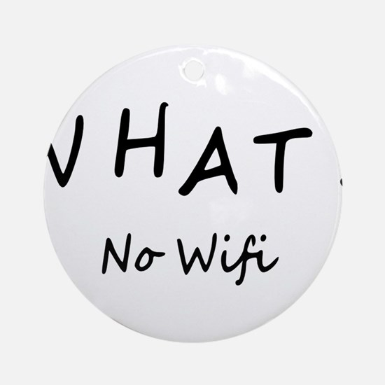Wifi Ornament (Round)