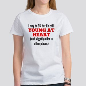 95 Years Old Young At Heart T-Shirt