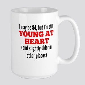 84 Years Old Young At Heart Mugs