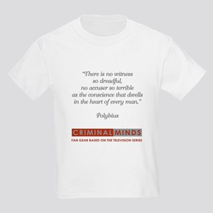 POLYBIUS QUOTE Kids Light T-Shirt