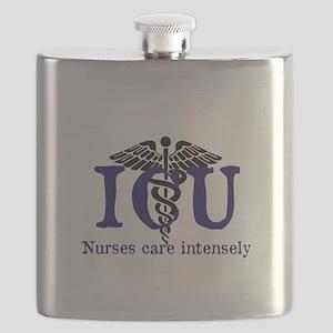 ICU Nurses care intensely Flask