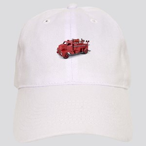 Vintage Metal Fire Truck Cap