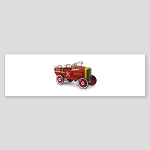 Pedal Car Vintage Style Bumper Sticker