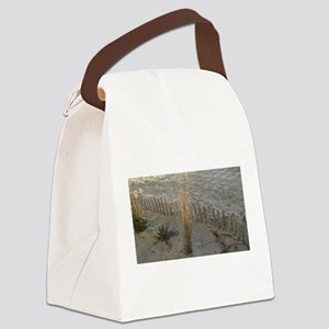 Beach In The Morning Canvas Lunch Bag
