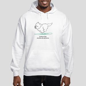 Just Like A Dog (2) Hooded Sweatshirt