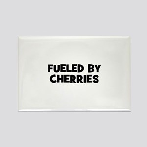 fueled by cherries Rectangle Magnet