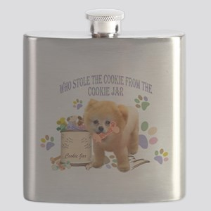 Pomeranian Store The Cookie Flask
