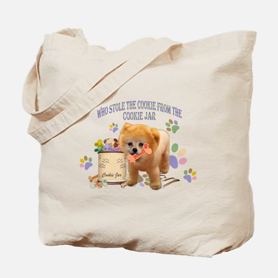 Pomeranian Store The Cookie Tote Bag