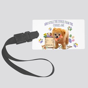 Pomeranian Store The Cookie Luggage Tag
