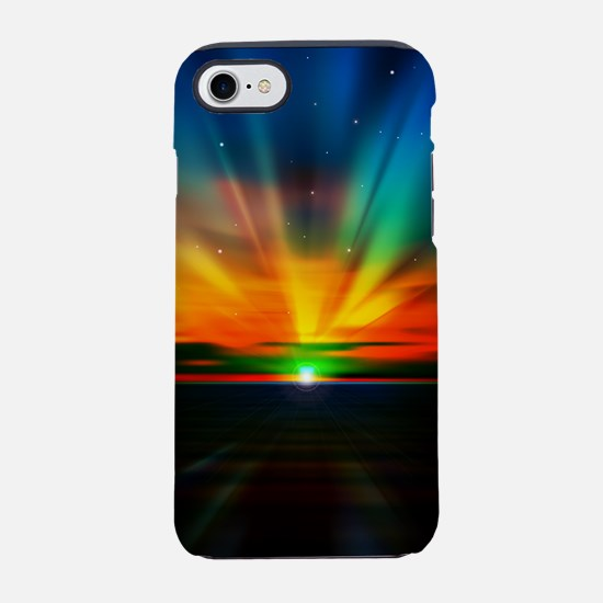 Sunset Over The Water iPhone 7 Tough Case