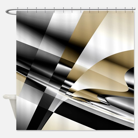 Cool Abstract Shower Curtain