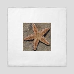 One Perfect Starfish.... Queen Duvet