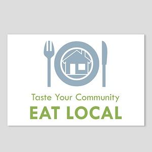 Taste Local Postcards (Package of 8)