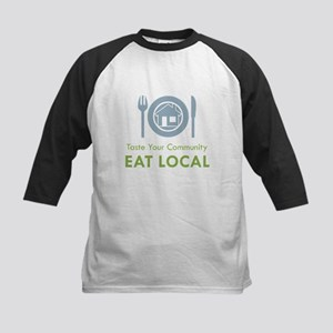 Taste Local Kids Baseball Jersey
