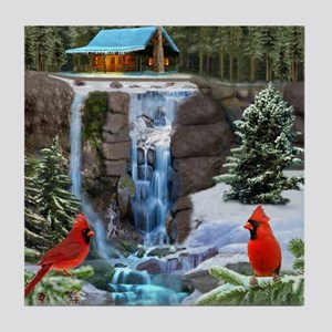 The Cardinal Rules Tile Coaster