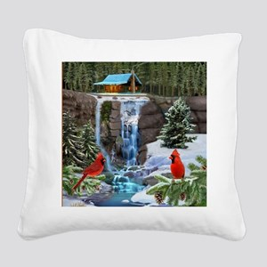 The Cardinal Rules Square Canvas Pillow