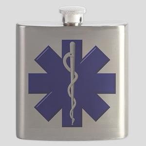 EMS / EMT Shield Flask