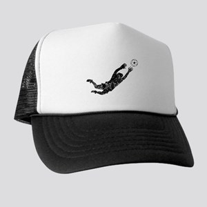 Vintage Soccer Goalie Trucker Hat