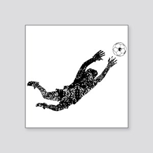 Vintage Soccer Goalie Sticker